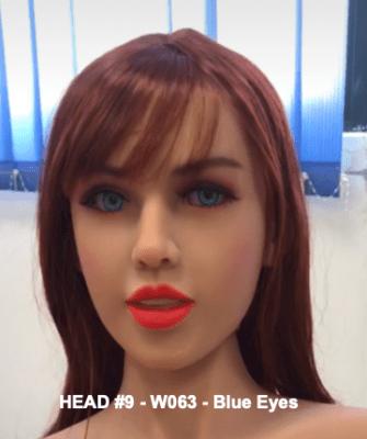 Head 9 – Brown W063 – Blue Eyes